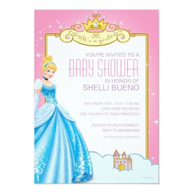 Disney Princess Cinderella It's a Girl Baby Shower