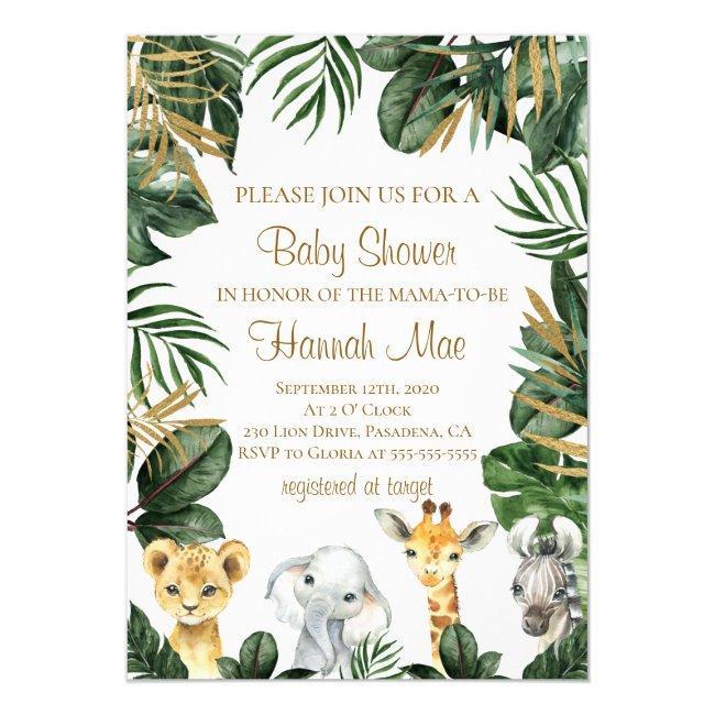 Safari Boy Baby Shower