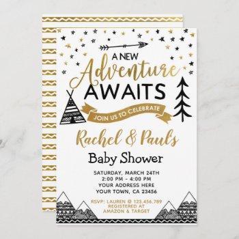 A New Adventure Awaits Baby Shower