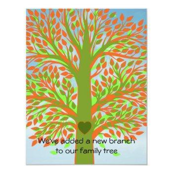 Adoption Tree Invitation