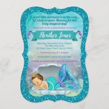 Adorable Mermaid Baby Shower  130 Light