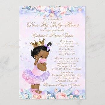 African American Princess Drive By Baby Shower