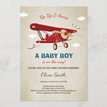 Airplane Baby Shower  Travel Adventure