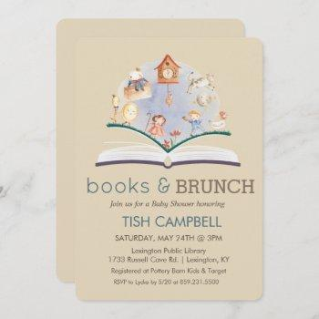 Any Color Vintage Storybook Baby Shower