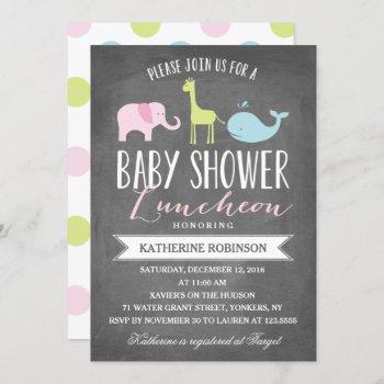 Baby Luncheon | Baby Shower