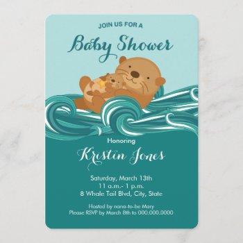 Baby Otter Baby Shower