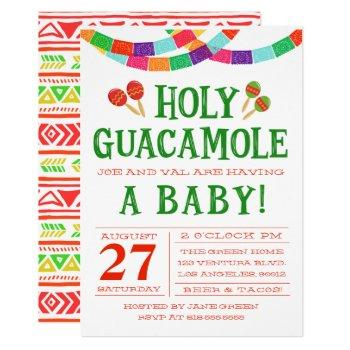 Baby Shower Fiesta Invitation