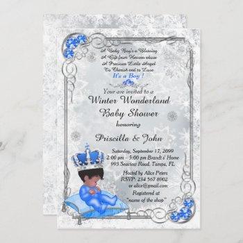 Baby Shower Honoring Boy,prince Boy,silver & Blue.