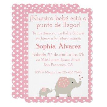 Baby Shower Invitation/invitación Para Baby Shower Invitation