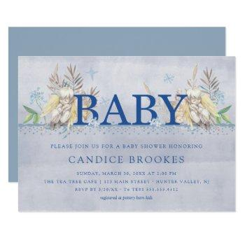 Baby Shower Invitations | Angel Baby
