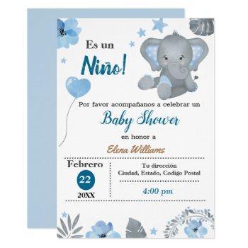Baby Shower-spanish Invitation