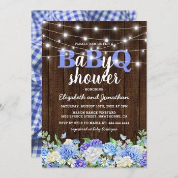 Bbq Baby Couples Shower | Boy Babyq Barbecue