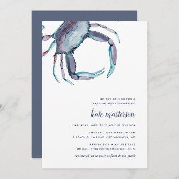 Blue Crab Baby Shower