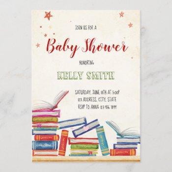 Book Baby Shower