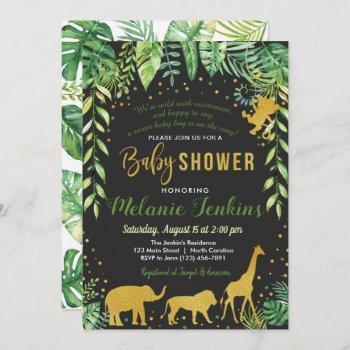 Boy Baby Shower , Jungle Baby Shower