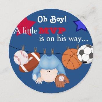 Boys Sports Baby Shower