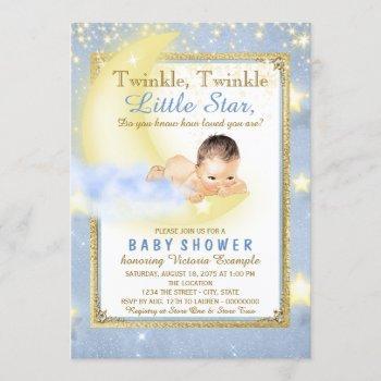 Boys Twinkle Twinkle Little Star Baby Shower