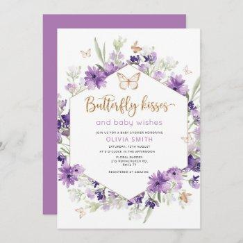Butterfly Kisses Baby Shower