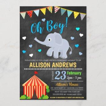 Circus Themed Boy Baby Shower