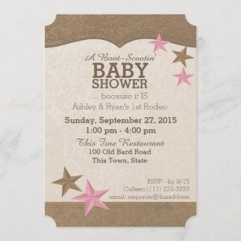 Country Rodeo Western Baby Shower