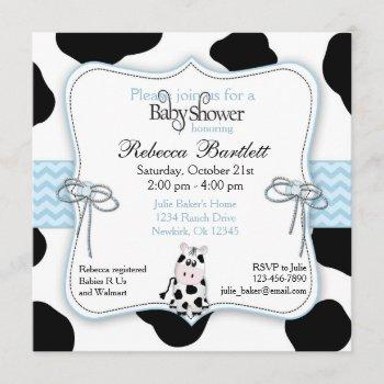Cow Cowboy Baby Shower