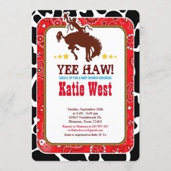 Cowboy Western Old West Baby Shower