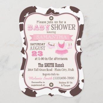 Cowgirl Bandanna Tutu Baby Shower