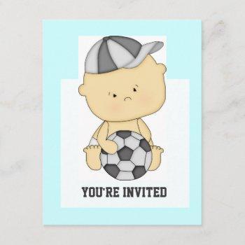 Cute Soccer Baby Shower