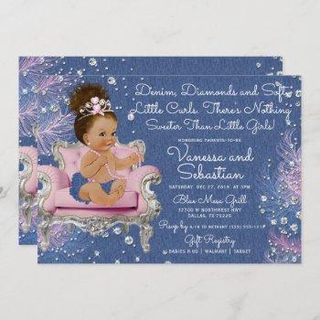 Denim & Diamonds Princess Pink And Silver