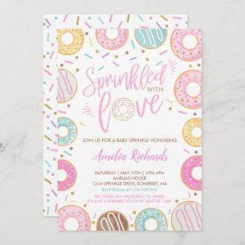 Donut Baby Sprinkle  Sprinkled With Love