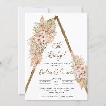 Dried Palm Leaves Pampas Dusty Pink Orchid Oh Baby