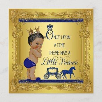 Ethnic Once Upon A Time Prince Baby Shower