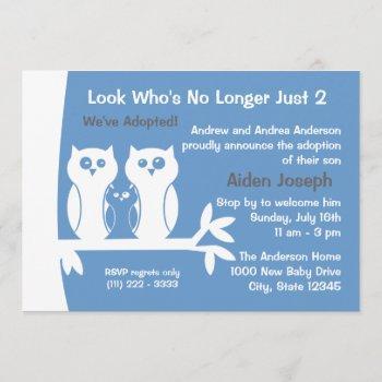 Family Adoption Open House Invitation