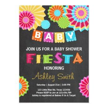Fiesta Baby Shower Invitation Mexican Baby Shower