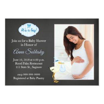Fun Photo Baby Shower Invitation