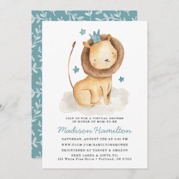 Gentle Lion Virtual Baby Shower