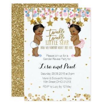 Girl Or Boy Gender Reveal Invitation