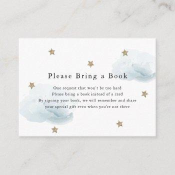 Gold Stars & Clouds Please Bring A Book