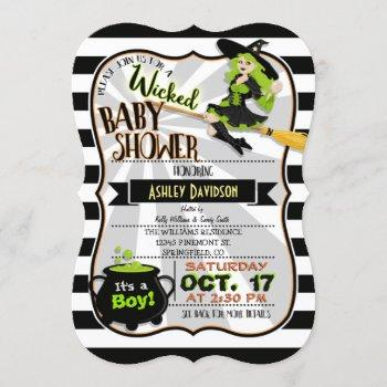 Halloween Theme Witch Baby Shower