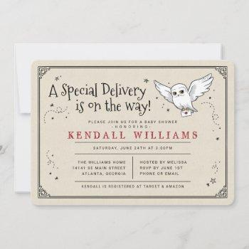 Harry Potter | Hedwig Special Delivery Baby Shower Invitation