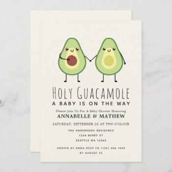 Holy Guacamole Cute Avocado Couples Baby