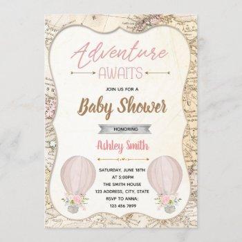 Hot Air Balloon Adventure Awaits Baby Shower