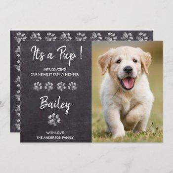 It's A Pup New Pet Dog Puppy Shower Invitation