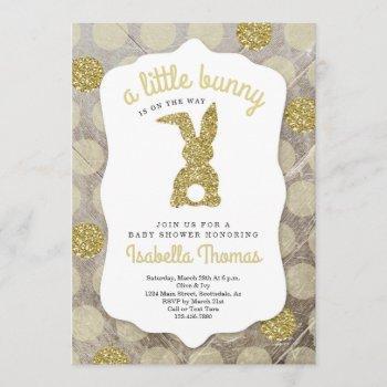 Little Bunny Easter Baby Shower Gender Neutral