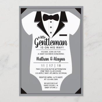 Little Gentleman Baby Shower , Tuxedo