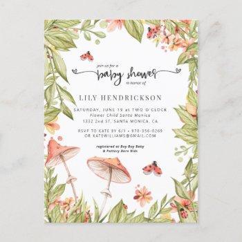 Little Ladybug | Spring Baby Shower Invitation