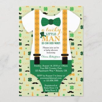 Little Man Baby Shower , St Patricks Day