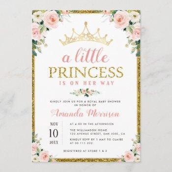 Little Princess Girl Baby Shower