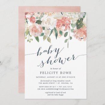 Midsummer Floral | Baby Shower