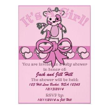 Moo Baby Shower Invitation